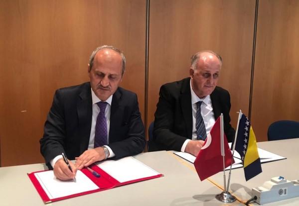 Türkiye ile Bosna Hersek Arasında İşbirliği Tesis Edildi