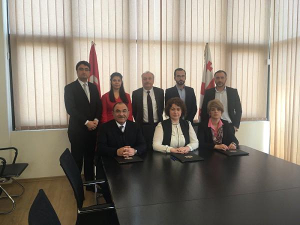 Türkiye ile Gürcistan Arasında Ulaştırma ve Bilgi Teknolojileri Alanlarında Ar-Ge İşbirliği Tesis Edildi