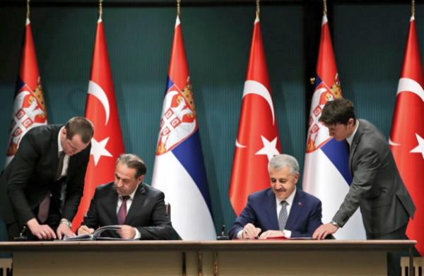 Türkiye ile Sırbistan Arasında Ulaştırma Alanında Ar-Ge İşbirliği Tesis Edildi